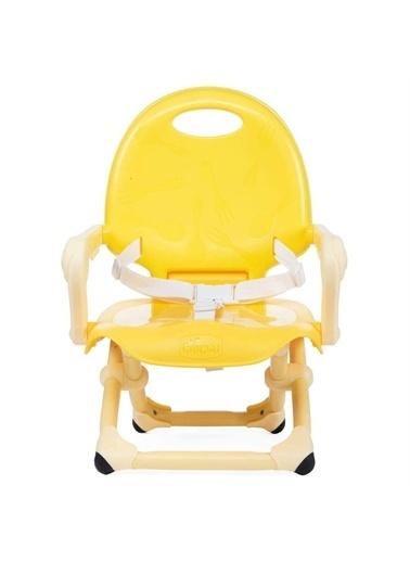 Chicco Chicco Booster Seat Pocket Snack Portatif Mama Sandalyesi Saffron Sarı